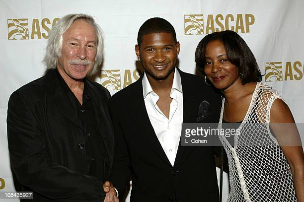 Todd Brabec executive vice president of ASCAP Usher and Jeanie Weems senior vice president of ASCAP