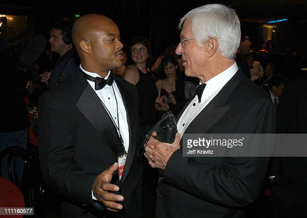 Todd Bridges and Dick Van Dyke during The TV Land Awards After Party at Hollywood Palladium in Hollywood CA United States