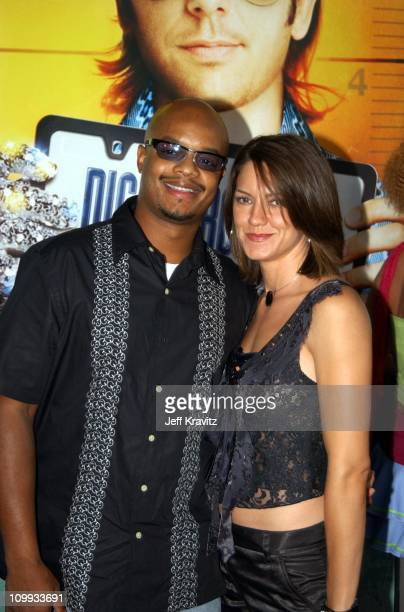 Todd Bridges and Dora Bridges during World Premiere of Dickie Roberts Former Child Star at Cinerama Dome in Hollywood California United States