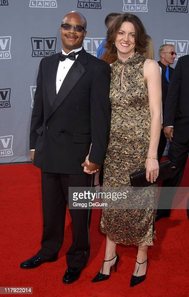 Todd Bridges and wife Dori during TV Land Awards A Celebration of Classic TV Arrivals at Hollywood Palladium in Hollywood California United States