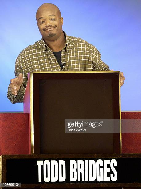 Todd Bridges during David Spade and CoStars from Paramount Pictures' Dickie Roberts Former Child Star Tape Hollywood Squares at CBS Television City...