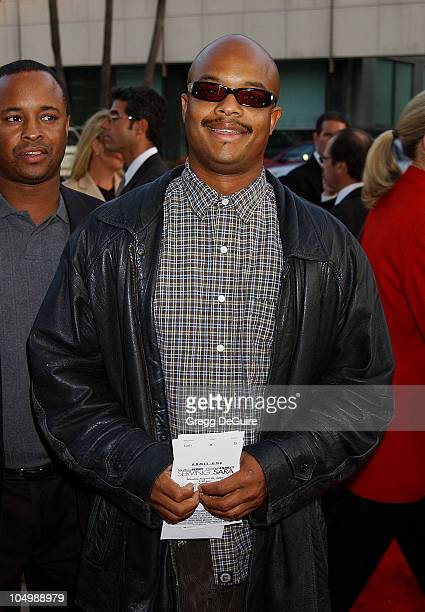 Todd Bridges during Serving Sara Premiere at Academy Theatre in Beverly Hills California United States