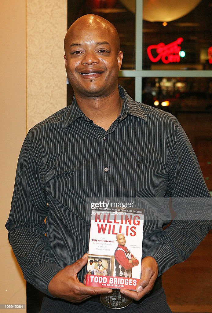 Todd Bridges Signs Copies Of His Autobiography 'Killing Willis'