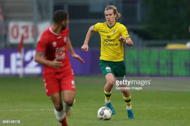 Todd Cantwell of Fortuna Sittard during the Dutch Jupiler League match between Utrecht U23 v Fortuna Sittard at the De Galgenwaard on April 20 2018...
