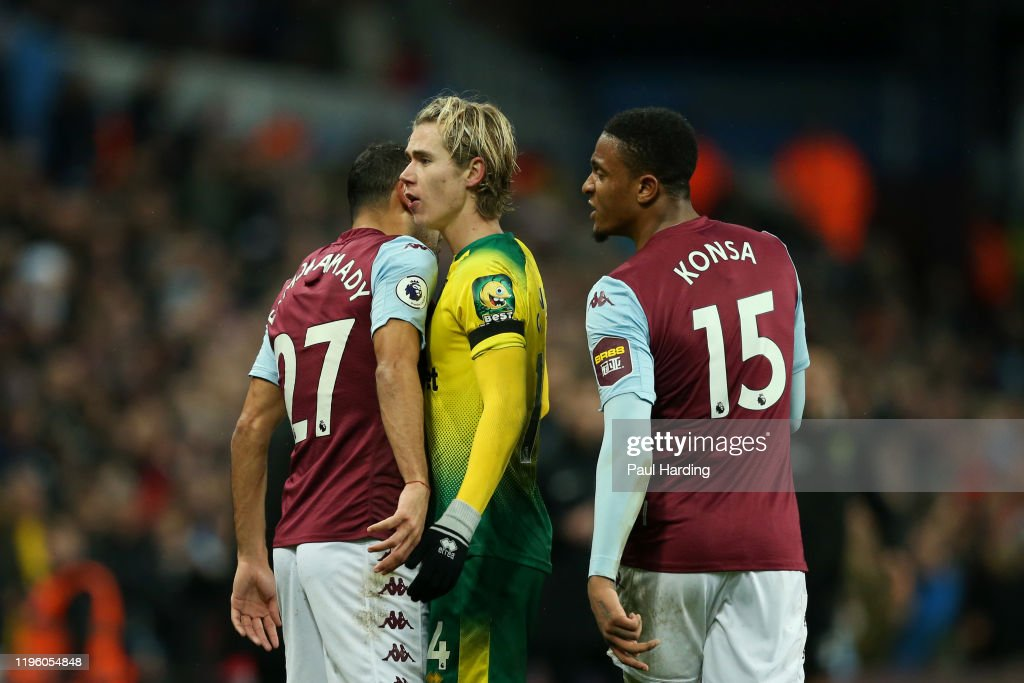 Aston Villa v Norwich City - Premier League : News Photo