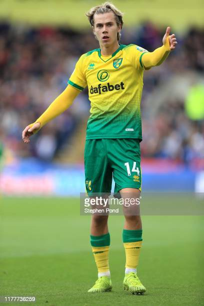 Todd Cantwell of Norwich City during the Premier League match between Crystal Palace and Norwich City at Selhurst Park on September 28 2019 in London...