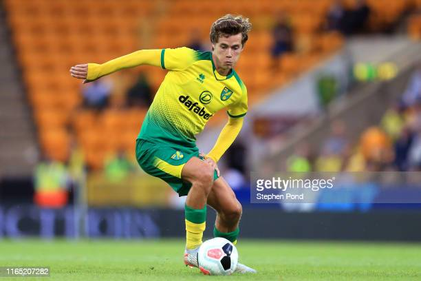 Todd Cantwell of Norwich City during the preseason Friendly match between Norwich City and Atalanta at Carrow Road on July 30 2019 in Norwich England