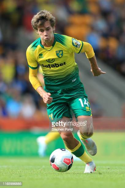 Todd Cantwell of Norwich City during the PreSeason Friendly match between Norwich City and Toulouse at Carrow Road on August 03 2019 in Norwich...