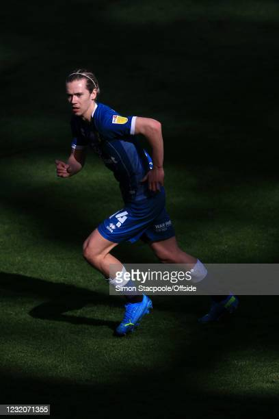Todd Cantwell of Norwich City in action during the Sky Bet Championship match between Preston North End and Norwich City at Deepdale on April 2, 2021...