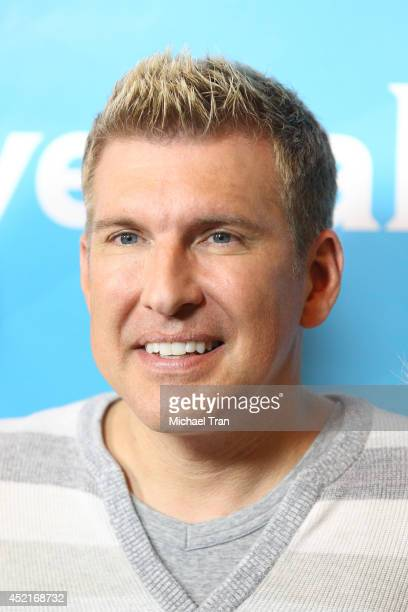 Todd Chrisley arrives at the 2014 Television Critics Association Summer Press Tour - NBCUniversal - Day 2 held at The Beverly Hilton Hotel on July...