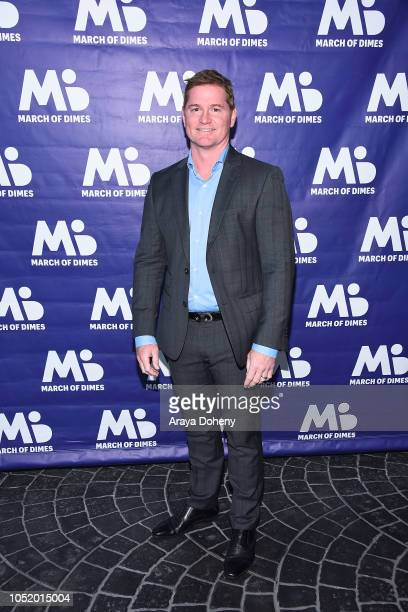 Todd Christopher attends the March of Dimes Signatures Chefs Auction Los Angeles on October 11 2018 in Beverly Hills California