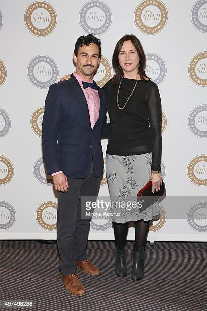 Todd d'Amour and Steinberg Playwright Award winner Lisa d'Amour attend the 2015 Steinberg Playwright Awards at Lincoln Center Theater on November 16...