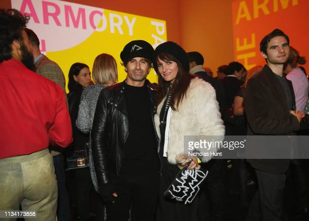 Todd DiCiurcio and Megan DiCiurcio attend the 2019 Armory Party at Museum of Modern Art on March 06 2019 in New York City