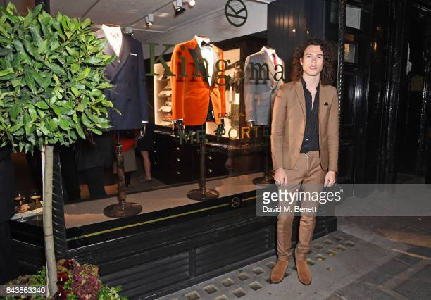 Todd Dorigo attends the launch of the 'Kingsman' shop on St James's Street in partnership with MR PORTER MARV Twentieth Century Fox in celebration of...