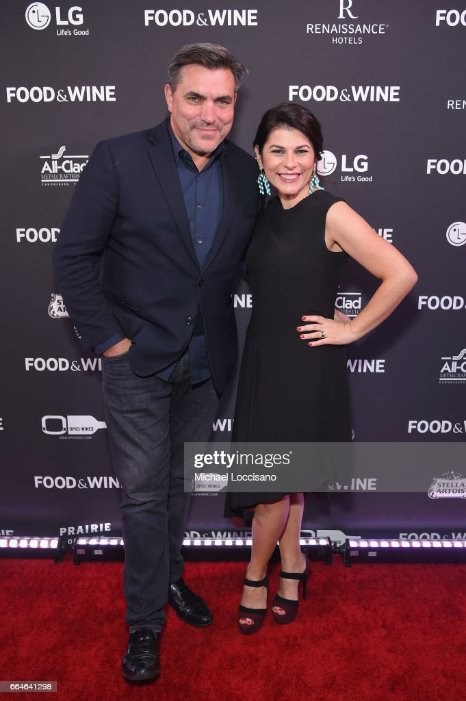 Todd English and Nilou Motamed, Editor of Time Inc.'s Food & Wine attend the Food & Wine Celebration of the 2017 Best New Chefs on April 4, 2017 in New York City.