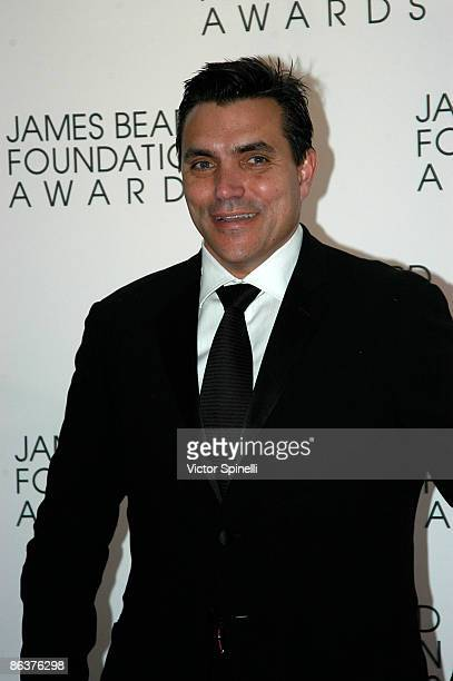 Todd English attends the 2009 James Beard Foundation Awards Ceremony and Gala at Avery Fisher Hall at Lincoln Center for the Performing Arts on May 4...