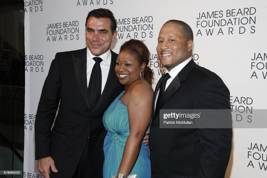 Todd English, Gina Neely and Pat Neely attend James Beard Foundation Awards 2010 at Lincoln Center on May 3, 2010 in New York City.