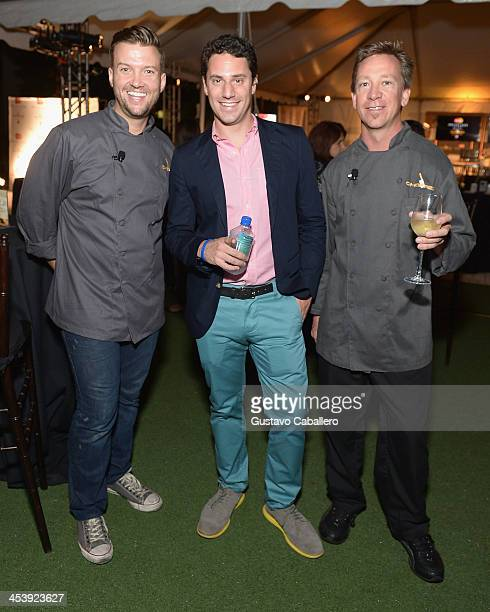Todd EricksonJason Zone Fisher and Sean Brasel attends the MasterCard Priceless And Food Network Present FirstEver MultiCity Chopped Experience In...