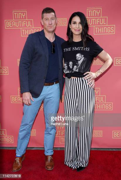 "Todd Felix and Beth Dover attend the opening night performance of ""Tiny Beautiful Things"" at Pasadena Playhouse on April 14, 2019 in Pasadena,..."