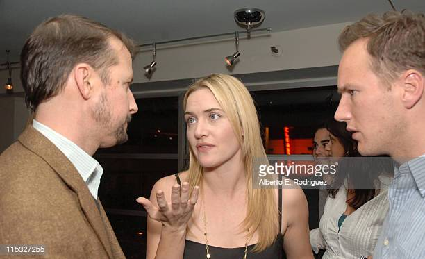 Todd Field Director Kate Winslet and Patrick Wilson
