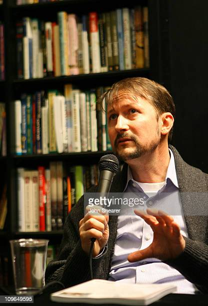 Todd Field during Todd Field and Tom Perrotta Sign Little Children The Shooting Script at Book Soup in West Hollywood January 3 2007 at Book Soup in...