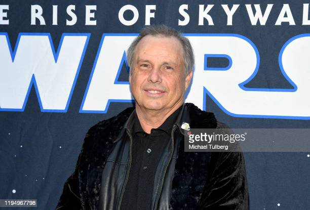 """Todd Fisher, brother of the late actress Carrie Fisher, poses at the IMAX opening of """"Star Wars: The Rise Of Skywalker"""" at TCL Chinese Theatre on..."""