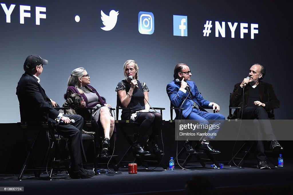 "54th New York Film Festival - ""Bright Lights"" Intro and Q&A"