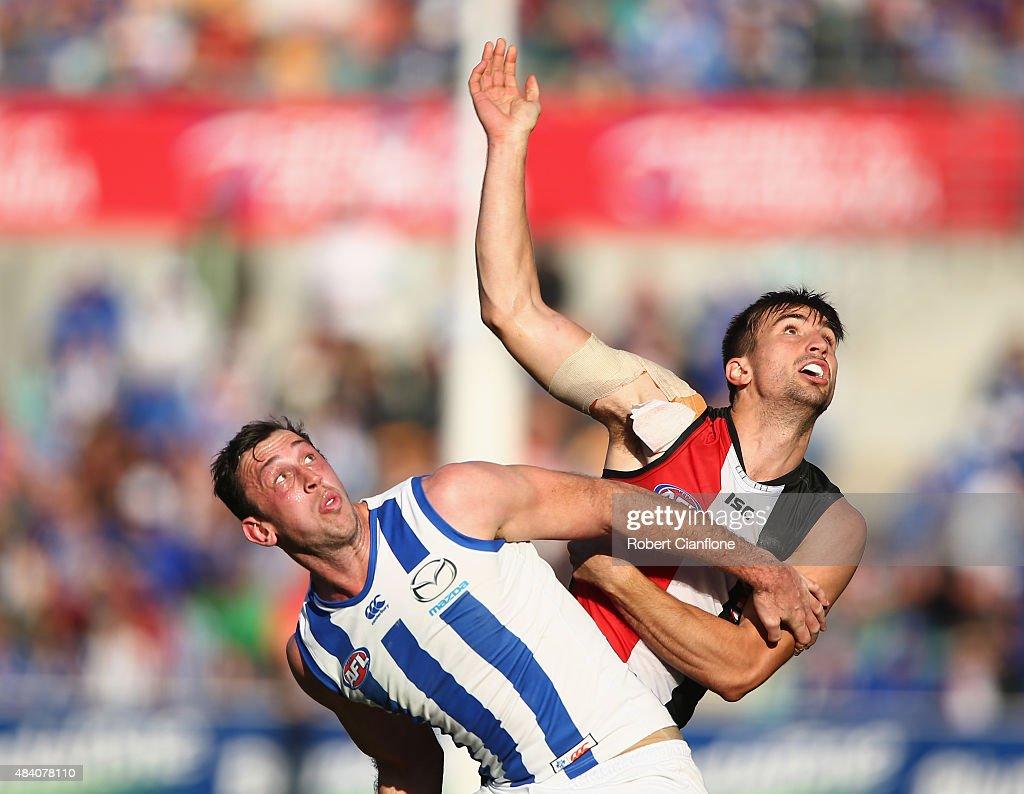 AFL Rd 20 -  North Melbourne v St Kilda : News Photo