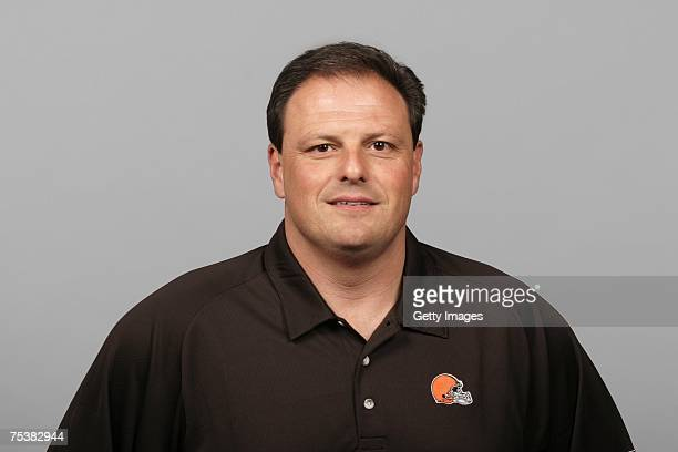 Todd Grantham of the Cleveland Browns poses for his 2007 NFL headshot at photo day in Cleveland Ohio