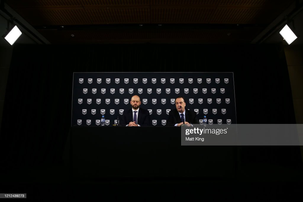 NRL Press Conference : News Photo