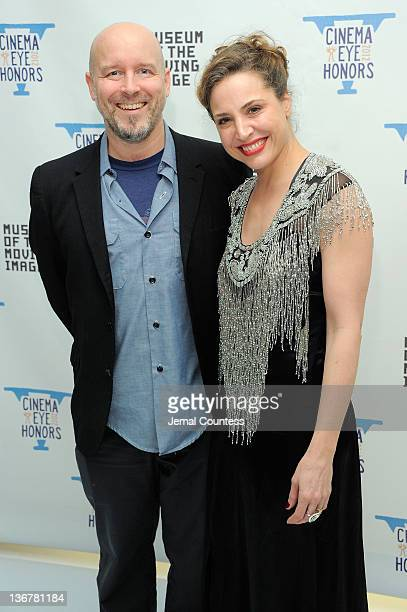 Todd Griffin and Esther Robinson attend the 5th Annual Cinema Eye Honors for Nonfiction Filmmaking at the Museum of the Moving Image on January 11...