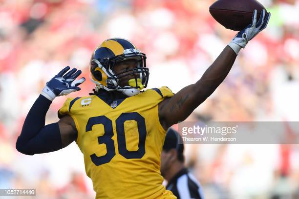 hot sale online 778e7 547ad Todd Gurley Pictures and Photos - Getty Images