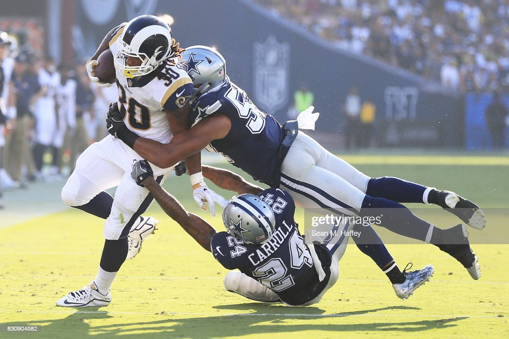 Dallas Cowboys v Los Angeles Rams : News Photo