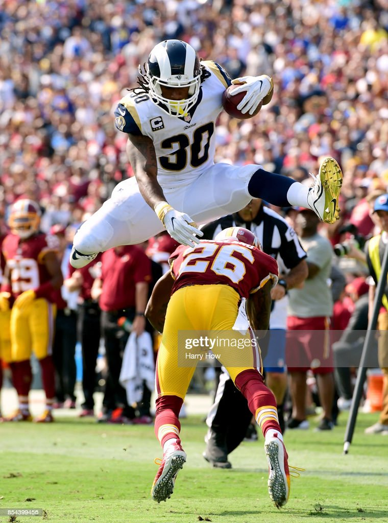 Washington Redskins vLos Angeles Ram : News Photo