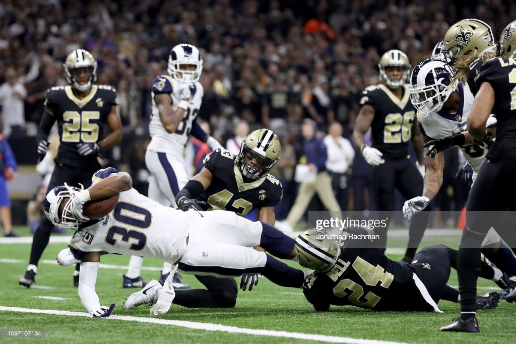 NFC Championship - Los Angeles Rams v New Orleans Saints : News Photo