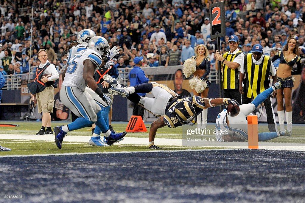 Detroit Lions v St Louis Rams