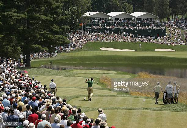 Todd Hamilton during the third round of the AT&T National held at Congressional Country Club in Bethesda, Maryland, on July 7, 2007. Photo by: Stan...