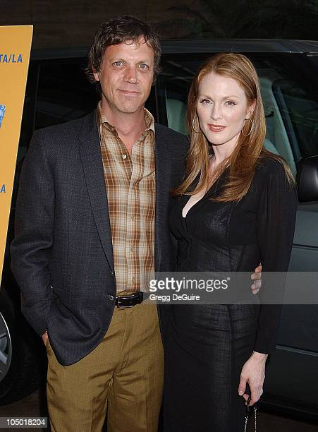Todd Haynes and Julianne Moore during The 9th Annual BAFTA/LA Tea Party at Park Hyatt Hotel in Los Angeles, California, United States.
