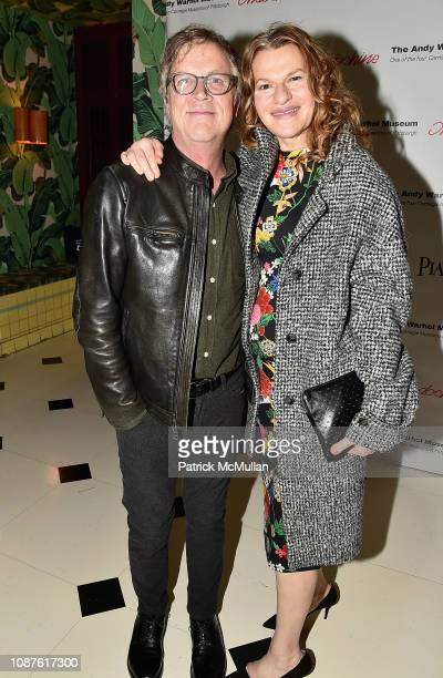 Todd Haynes and Sandra Bernhard attend The Andy Warhol Museum's Annual NYC Dinner at Indochine on November 12 2018 in New York City