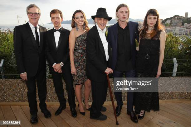 Todd Haynes Nahuel Perez Biscayart Elodie Bouchez Edward Lachman Michael Pitt and Astrid Berges attend an Hommage to Edward Lachman during the 71st...