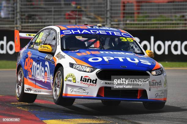 Todd Hazelwood drives the Bigmate Holden Commodore VF during qualifying for Supercars Adelaide 500 on March 2 2018 in Adelaide Australia