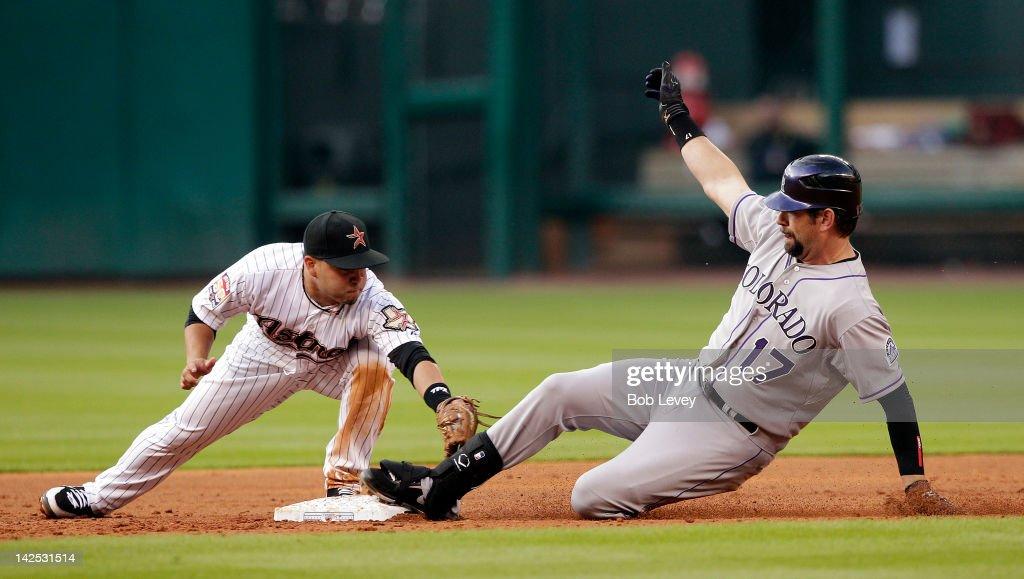 Colorado Rockies v Houston Astros