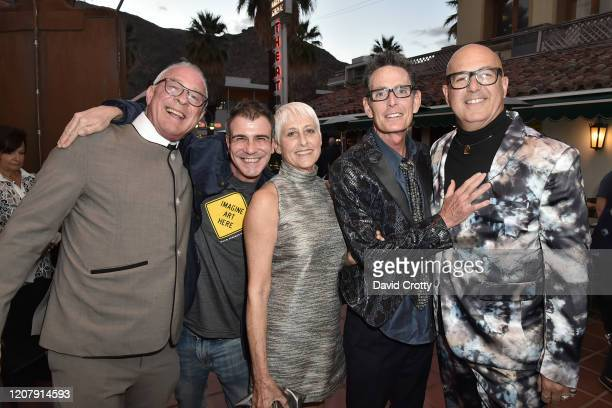 Todd Hughes Henry Jeannerot Christine Anthony Owen Masterson and P David Ebersole attend the House Of Cardin Special Screening At Palm Springs...
