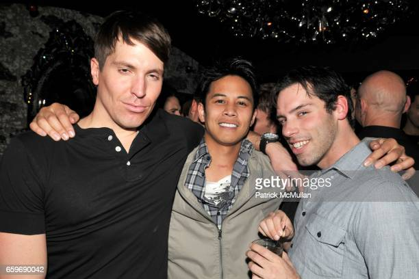 Todd Joyce guest and Galen London attend Opening Night for ROCKIT Hosted by TONY FORNABAIO and BRANDON VOSS at Amalia on March 27 2009 in New York...
