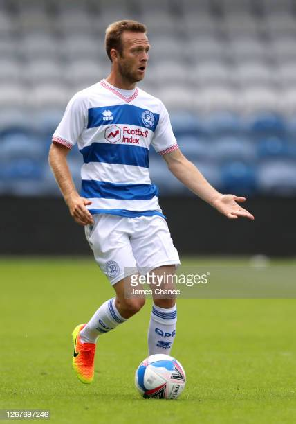 Todd Kane of Queens Park Rangers runs with the ball during the PreSeason Friendly between Queens Park Rangers and AFC Wimbledon at The Kiyan Prince...