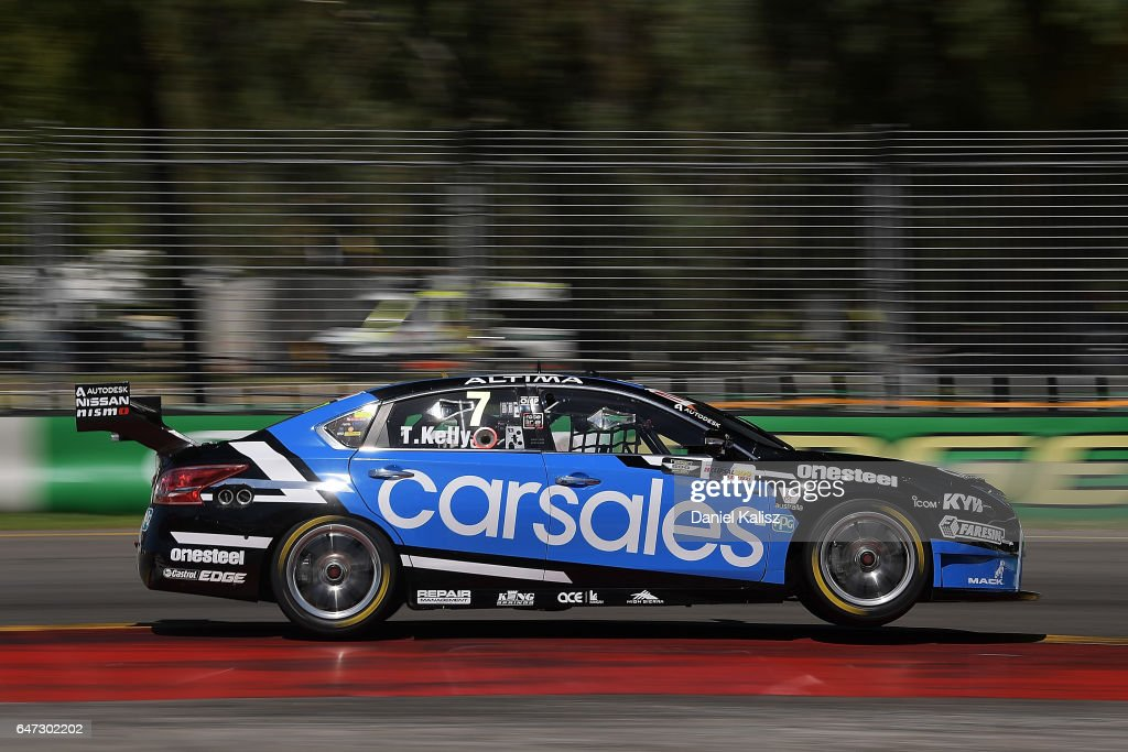 Todd Kelly Drives The Carsales Racing Nissan Altima During The
