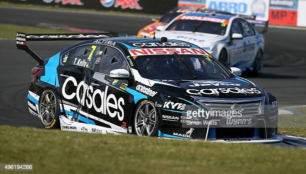 Todd Kelly during Race 30 of V8 Supercars at Pukekohe Stadium on November 8 2015 in Auckland New Zealand