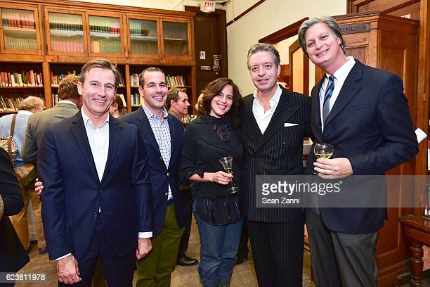 Todd Klein Christopher Spitzmiller Bridget Vizoso Mitch Owens and Jared Goss attend Ben Pentreath Lecture at the Institute of Classical Architecture...