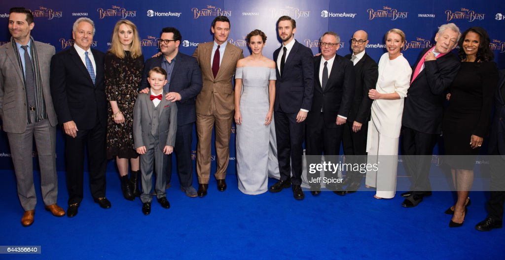 'Beauty And The Beast' - UK Launch Event At Odeon Leicester Square - Red Carpet Arrivals : News Photo