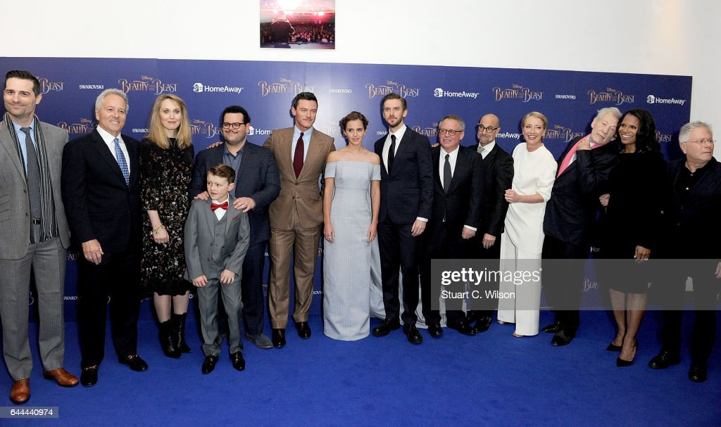 """Disney's """"Beauty And The Beast"""" - UK Launch Event At Odeon Leicester Square : News Photo"""
